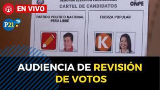 Audiencias públicas sobre revisión de votos impugnados JNE