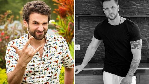 """Rodrigo González cuestionó en Instagram el trabajo de Nicola Porcella en la telenovela """"Te volveré a encontrar"""". (@rodgonzalezl / @nicolaporcella12)."""