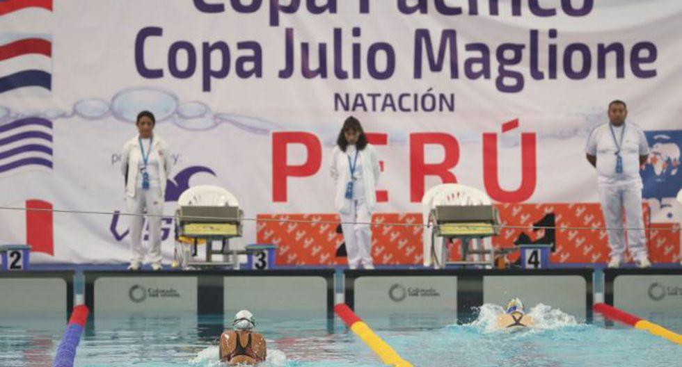 Equipo peruano de natación se coronó campeón en la 15 Copa Julio Maglione de natación. (Andina)