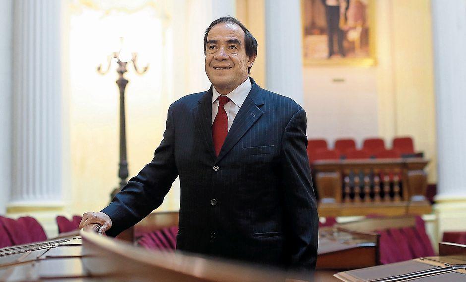 Yonhy Lescano Ancieta. Congresista de Acción Popular. (Perú21)