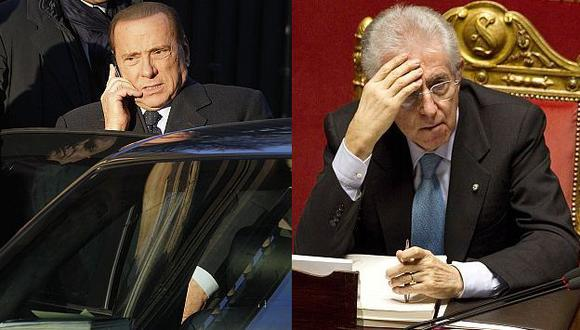 Las misivas amenazantes no llegaron a sus destinatarios Berlusconi y Monti. (AP/Reuters)
