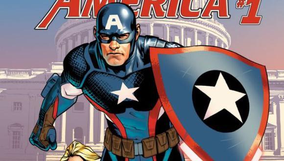 Fans del Capitán América revelan su furia por el primer número de una historia del héroe de Marvel Comics (Marvel Comics).