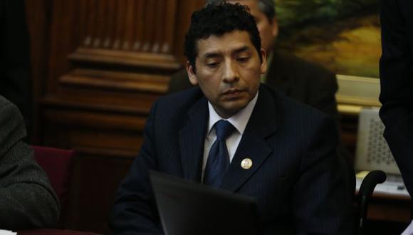 Legislador será sancionado. (Martín Pauca)