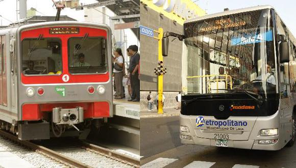 Servicio transportaría hasta 20,000 usuarios más al día que el Metropolitano. (USI)