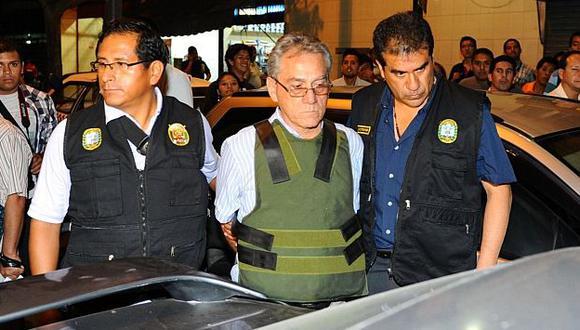 Movadef: Alfredo Crespo recibió dinero de Artemio para reagrupar a senderistas. (Andina)