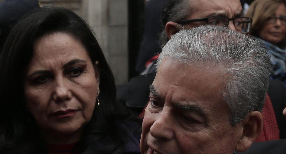 GLoria Montenegro recordó que las acusaciones en contra de César Villanueva se refieren a acciones de cuando era gobernador regional de San Martín y no de cuando ocupó la PCM. (Foto: GEC)