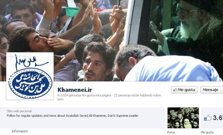 Captura: Khamenei.ir (Facebook)