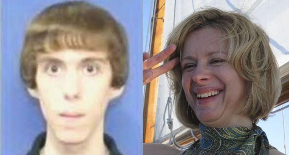 Adam Lanza y su madre, Nancy. (Reuters)