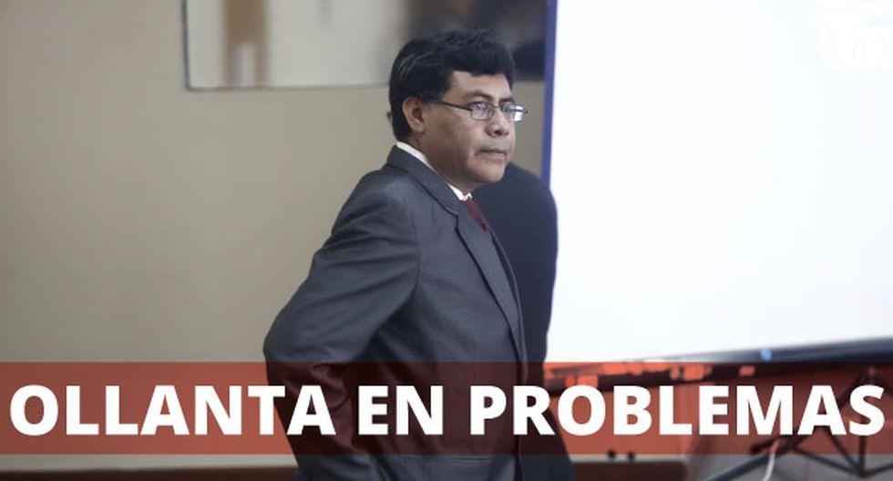 Germán Júarez el fiscal que ve el caso Ollanta Humala (Renzo Salazar)