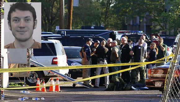 James Holmes fue detenido en estacionamiento de cine. (Reuters/CNN)