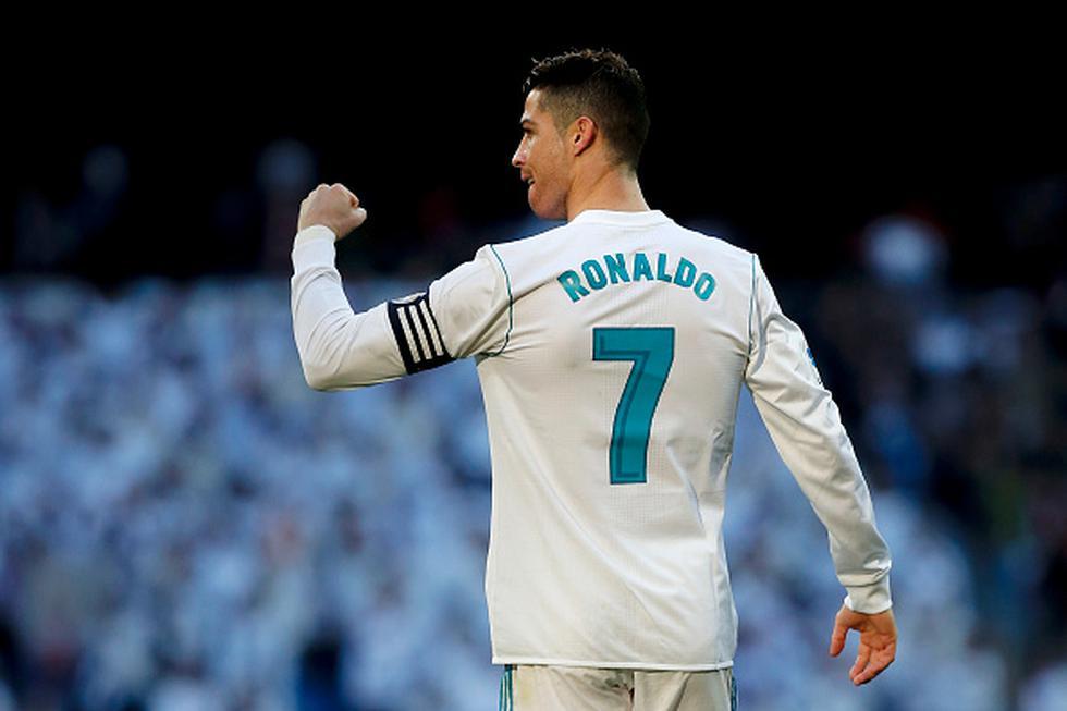 Cristiano es el goleador del año 2018 en La Liga. (Getty Image)