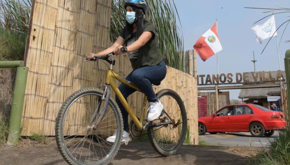 Quienes lleguen en bicicleta pagarán la mitad por el ingreso a los Pantanos de Villa. (Foto: MML)