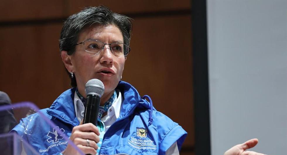Coronavirus: Claudia López, alcaldesa de Bogotá, pide a Iván Duque que Colombia vuelva a cuarentena estricta por Covid-19. (Foto: EFE/Carlos Ortega/Archivo).