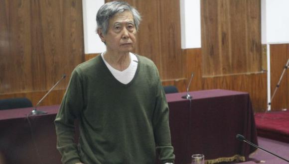 Alberto Fujimori fue dado de alta en clínica y volvió al penal de la Diroes. (Perú21)