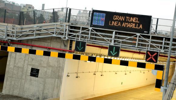 Lamsac (ahora Vinci Highways) está a cargo de la ruta Línea Amarilla. (Foto: GEC)