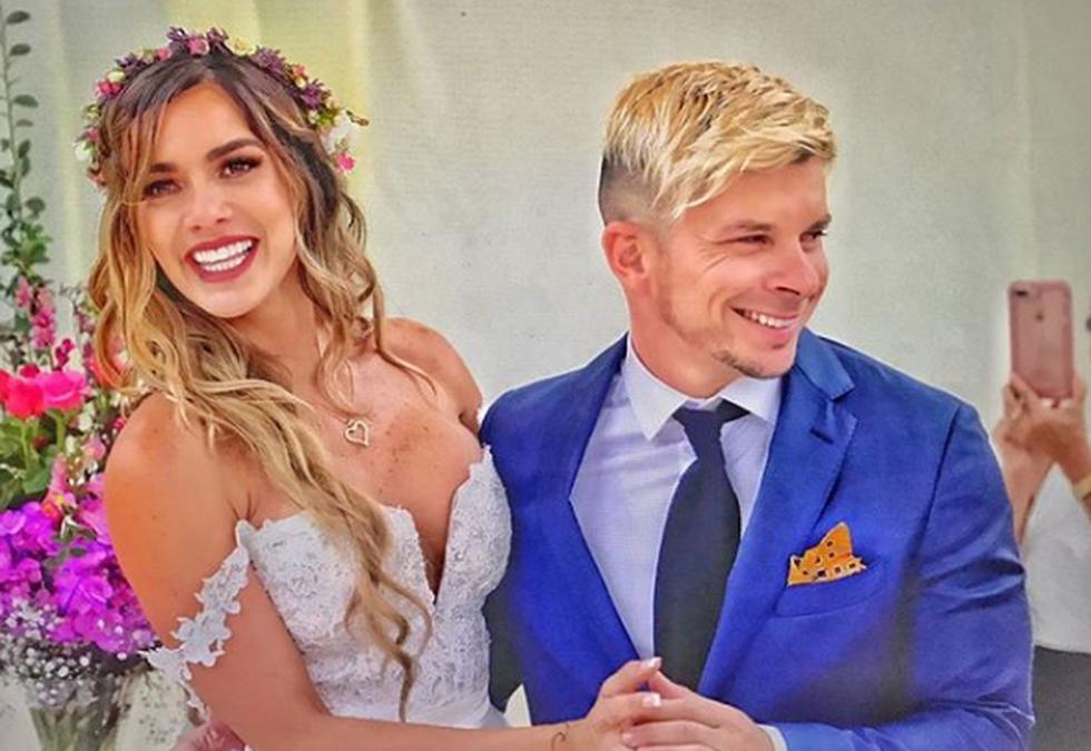 Mario Hart y Korina Rivadeneira superaron una crisis mediática relacionado con la situación migratoria de la modelo venezolana. Este año se casaron y hoy están más felices que nunca. (USI)