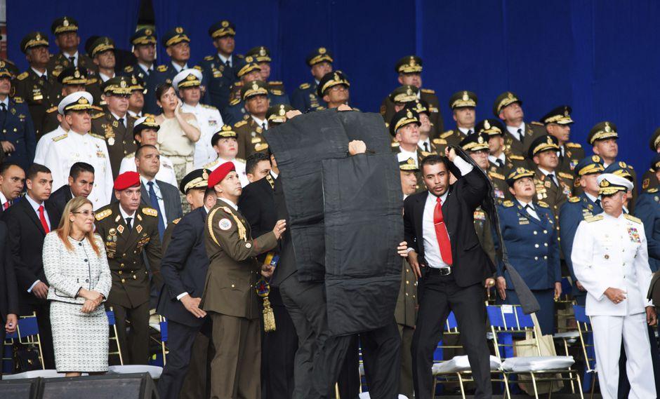 Turquía, Nicaragua, Cuba y Bolivia también condenaron el atentado sufrido por el mandatario venezolano durante una ceremonia protocolar en Caracas. (Foto: AP)