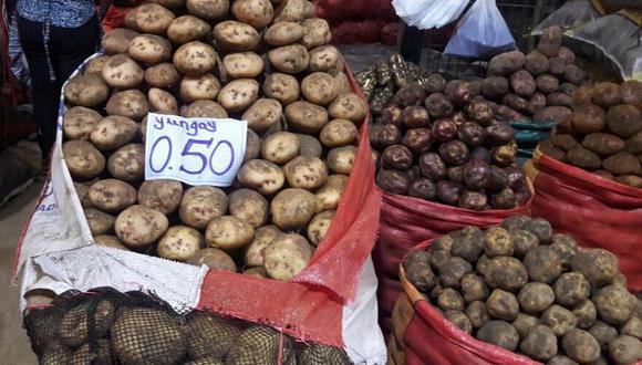 La Municipalidad de Lima confirmó que el Gran Mercado Mayorista De Lima está abastecido pese a paro de productores. (Difusión)