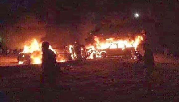 Reportan nuevo ataque aéreo de EE.UU. cerca de Bagdad contra convoy de milicia iraquí donde viajaba prominente líder. (Captura)