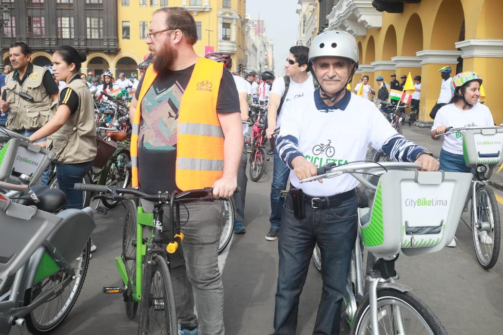 Día Mundial de la Bicicleta. (Juean Ponce / GEC)
