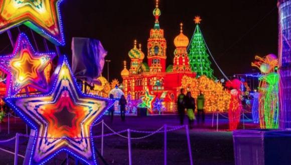 Festival de las luces del Oso Panda. (Difusión)