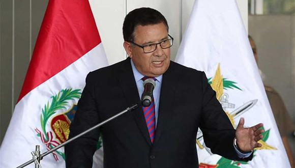 El ministro José Huerta indicó que este proceso también se aplicó para otros involucrados en el caso 'Gasolinazo'. (Foto: Agencia Andina)