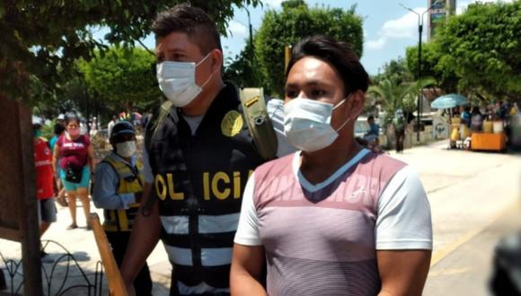 Ucayali: Frank Ricardo Ruiz Silvano (25) acudió a la comisaría de Masisea para informar sobre el presunto suicidio de su conviviente Wendy Gonzales Rojas (24) , pero al caer en una serie de contradicciones el fiscal ordenó detenerlo en calidad de sospechoso.