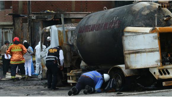 Conductor de camión cisterna tiene 83 papeletas en su historial.