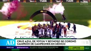 Liga MX: Yoshimar Yotún y Juan Reynoso consiguen un nuevo título en México