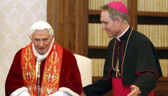Benedicto XVI se va el 28. (Reuters)