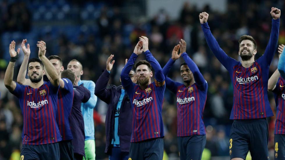 Barcelona no entrenará hasta el martes tras victoria sobre Real Madrid en clásico de liga española