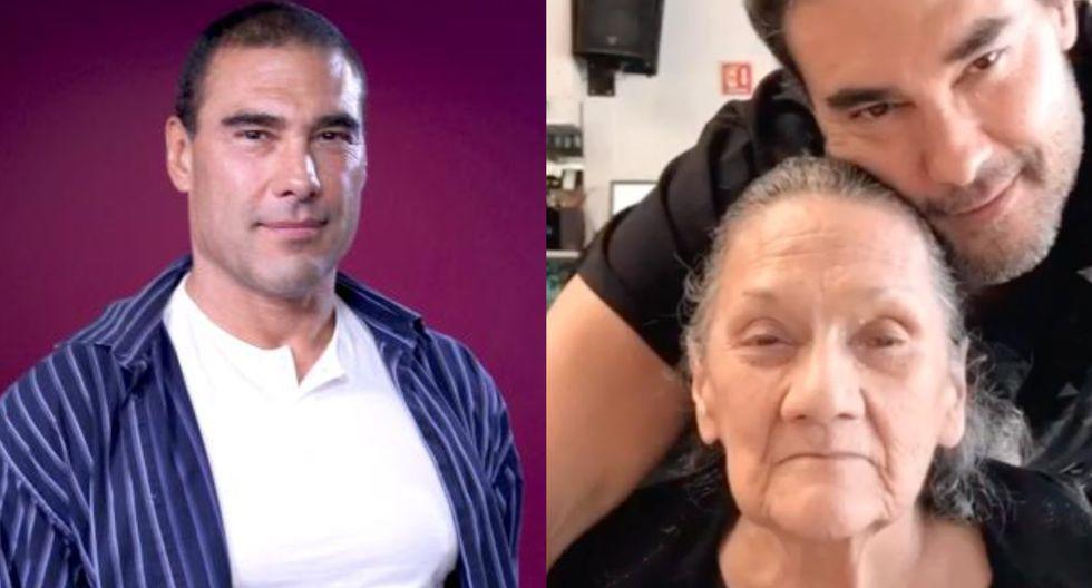 Eduardo Yañez anuncia muerte de su mamá y la despide con emotivo video.