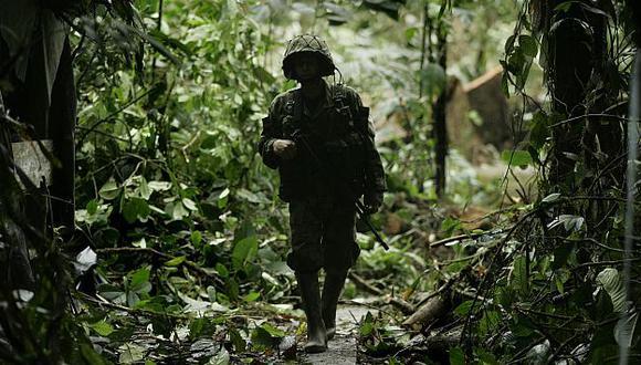 La frontera entre Colombia y Ecuador es escenario recurrente de maniobras de las FARC. (AP)