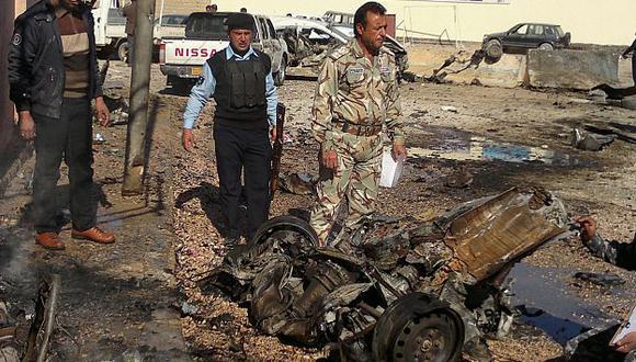 Cuatro coches bomba y dos ataques suicidas azotaron Irak. (AP)