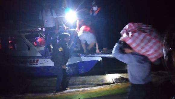 Loreto: naufragio de embarcación fluvial deja al menos dos muertos y número indeterminado de desaparecidos