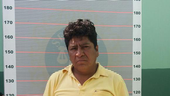 Marco Antonio Luza Segundo fue capturado tras violar a la mujer. (PNP)
