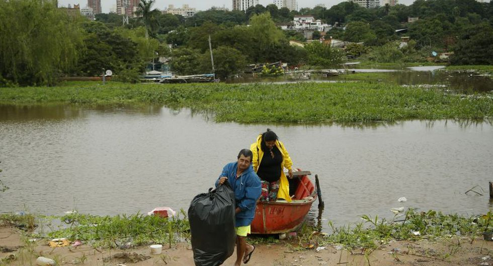 Pese a ello, la imagen de la capital de Paraguay ha quedado deteriorada debido a que en pleno siglo XXI, Asunción no se ha dotado de un efectivo sistema de desagüe fluvial. (Foto: AP)