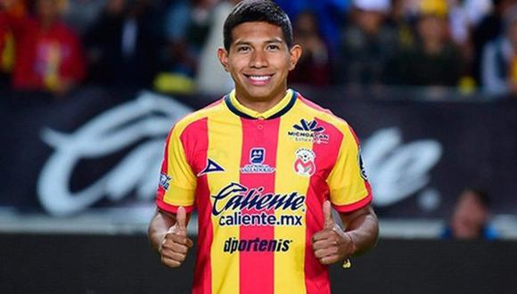 Edison Flores se unió a la 'monarquía' para el Apertura 2018 (Foto: Monarcas Morelia).