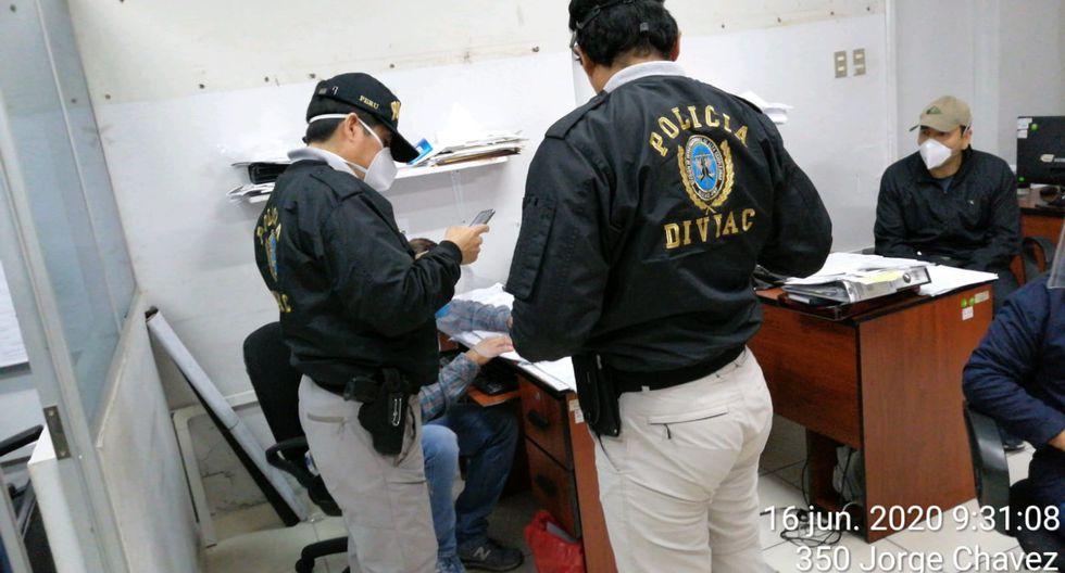 PNP Interviene la Municipalidad de Pueblo Libre. (Perú21)
