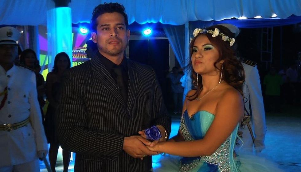 El cumbiambero Christian Domínguez fue el encargado de animar la celebración por los 15 años de Thamara Gómez. (Difusión)