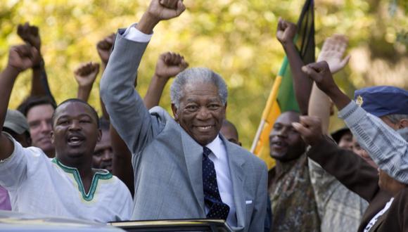 Fue Mandela en cinta Invictus. (Difusión)