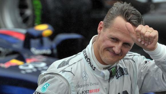 Michael Schumacher está levemente mejor después de segunda operación. (AFP)