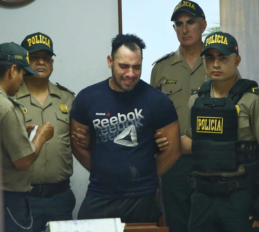 Video de seguridad captó al venezolano Edison Jesús Romero Montiel (35) agrediendo salvajemente a su conviviente. (Fotos: Gonzalo Córdova/GEC)