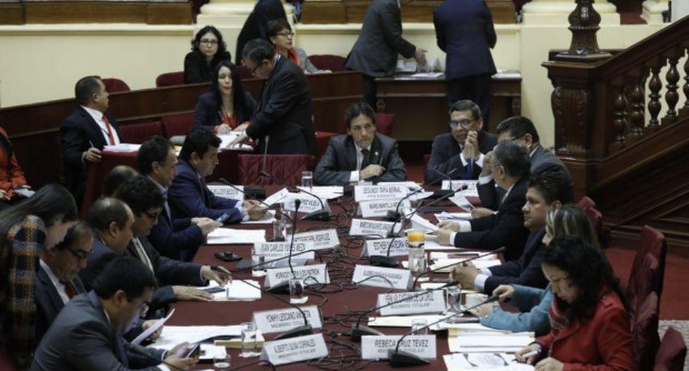 La Comisión de Fiscalización ha sido criticada tras aprobar la formación de un grupo que investigue a las encuestadoras. (Foto: GEC)