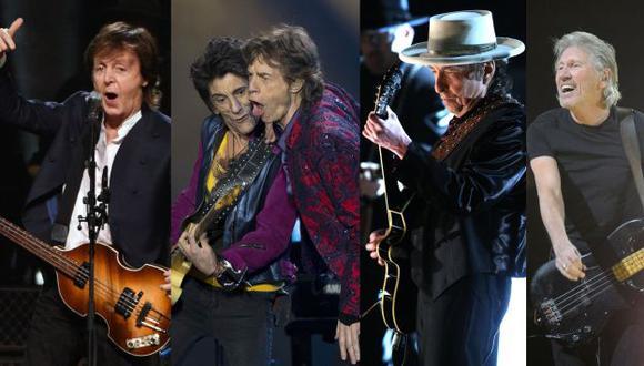 Paul McCartney, Rolling Stones, Bob Dylan, Roger Waters juntos en festival.
