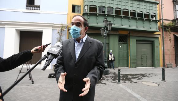 Yonhy Lescano, candidato presidencial por Acción Popular, lidera las preferencias electorales. (Foto: GEC)