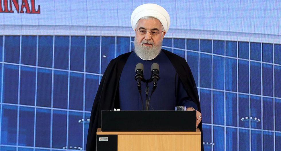 """Rohani destacó que Irán ha sido leal a sus compromisos y acuerdos internacionales y que fue la otra parte la que """"violó todos los acuerdos"""". (Foto: AFP)"""