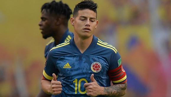 James Rodríguez se pronunció tras la desconvocatoria de la selección colombiana. (Foto: AFP)