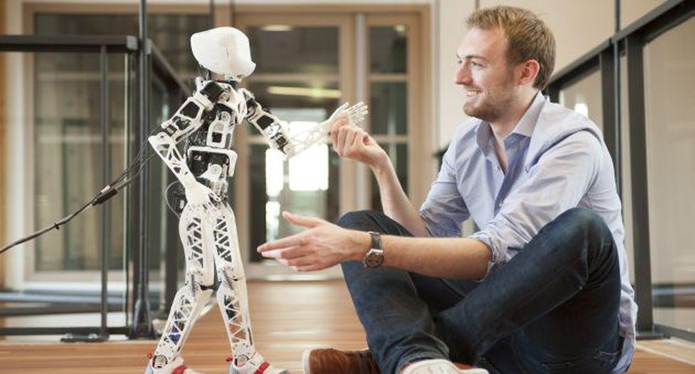 Un modelo para armar. Poppy, el robot hecho en casa. (USI)