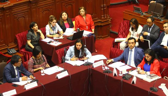 Comisión de Justicia aprobó proyecto de la JNJ por mayoría. (Foto: Miguel Bellido)